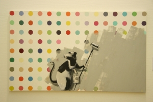 Banksy - vs Dot Painting